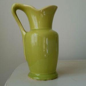Vintage McCoy ceramic pitcher